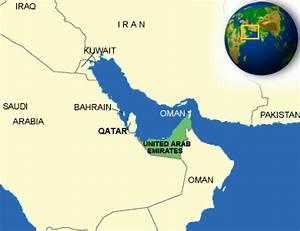 Vereinigte Arabische Emirate Karte Geschichte