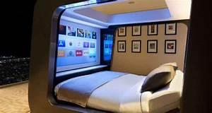Lit Du Futur : hican le lit qui se transforme en salle de cin ma neozone ~ Melissatoandfro.com Idées de Décoration