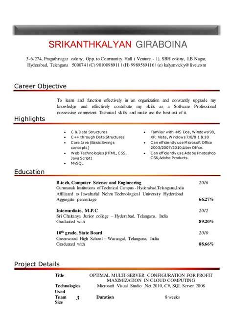 Resume Update by Resume Update V 10 3 Col Amcat