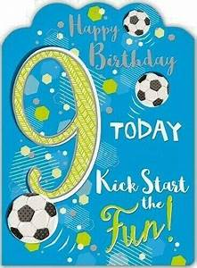 Age, 9, -, Boys, 9th, Birthday, Card, -, U00a31, 99
