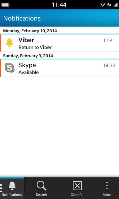 skype and viber background services and notifications blackberry at crackberry