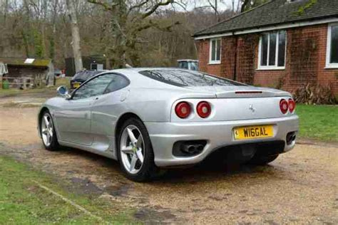 The 360 modena's spaceframe chassis was designed by ferrari and built in collaboration with us aluminum specialist alcoa. Ferrari 2000 360 MODENA F1 FULL SERVICE HISTORY JUST SERVICED + NEW