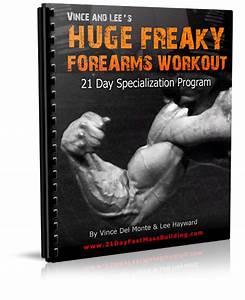Huge Freaky Forearms Workout  U2014 Lee Hayward U0026 39 S Total Fitness Bodybuilding