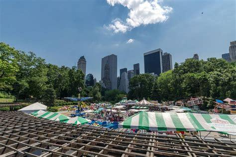 ten theme parks  green spaces    york city