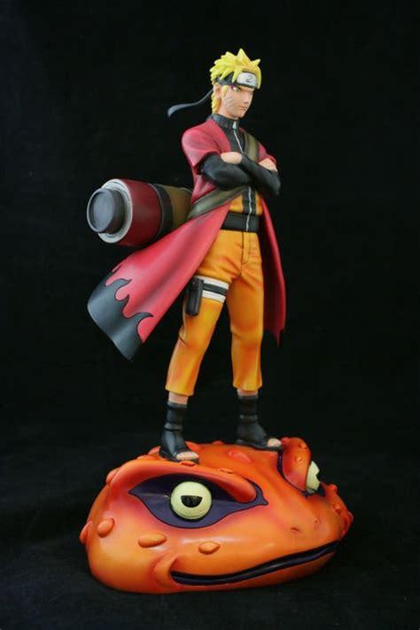 naruto  naruto sage mode toad resin statue