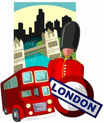 London Trip Travel Clipart Journey England Landmarks