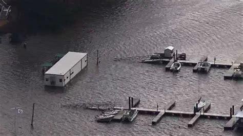 Boat Club Jordan Lake Nc by Significant Flooding Seen Around Jordan Lake Abc11
