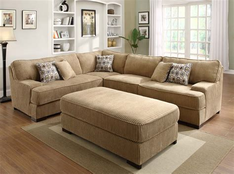 homelegance minnis sectional sofa set brown