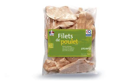 cuisiner les filets de poulet filets de poulet surgelés les viandes volailles picard
