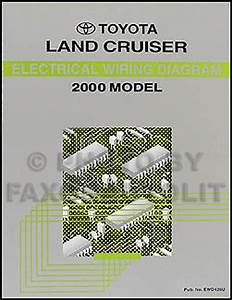 2006 Toyota Land Cruiser Wiring Diagram Manual Original