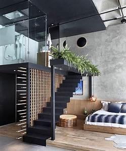 Modern Interiors Design   Chic Open Design Via Myarchitectures  Avec Images