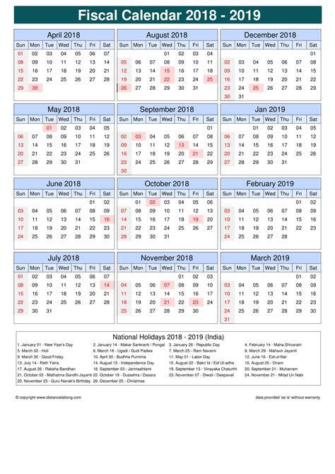 fiscal calendar vertical outer border sunday  saturday