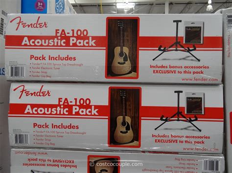 fender acoustic guitar fa