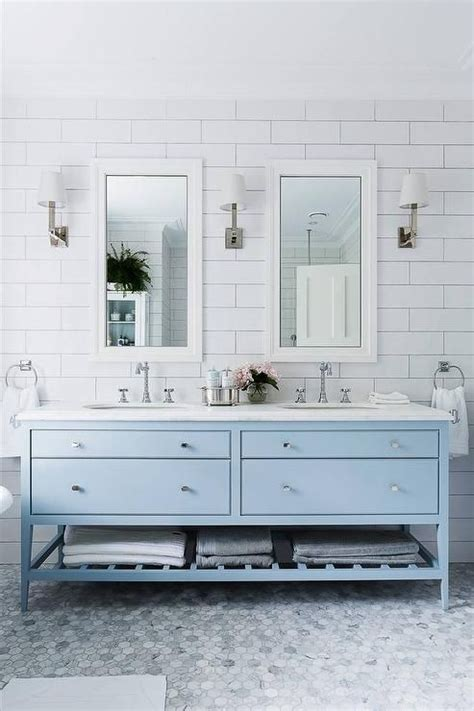 bathroom vanity light ideas the 25 best blue bathrooms ideas on blue