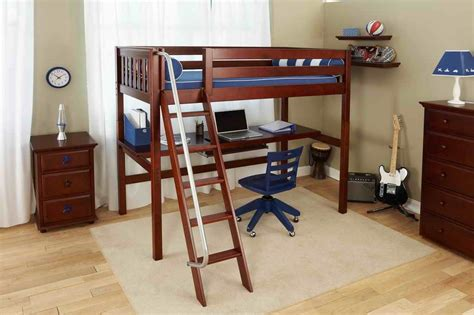 bunk bed with desk cheap buy loft bed with desk for small room space