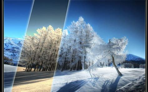 Anime Winter Scenery Wallpaper - winter scenery backgrounds wallpaper cave