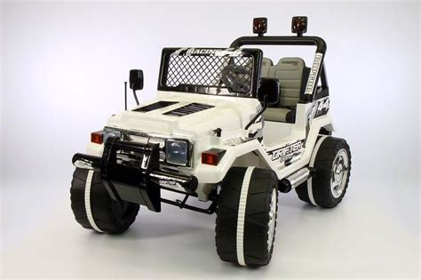 power wheels jeep white jeep wrangler style 12v kids ride on car mp3 battery