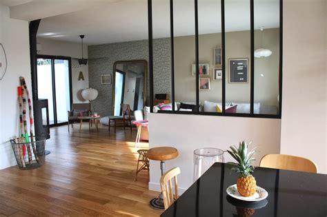 cuisine et salon mur vitra entre la cuisine et salon inspirations avec