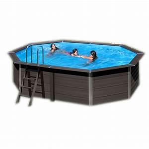 Piscine Hors Sol Composite : piscine composite avantgarde gre 524x386cm hauteur 124 cm ~ Dode.kayakingforconservation.com Idées de Décoration