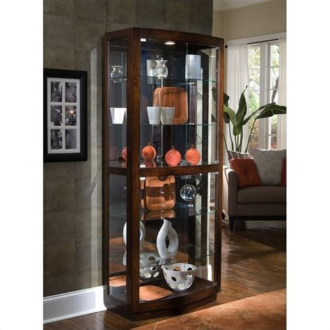 pulaski pacific heights curio cabinet pulaski pacific heights curio cabinet ebay