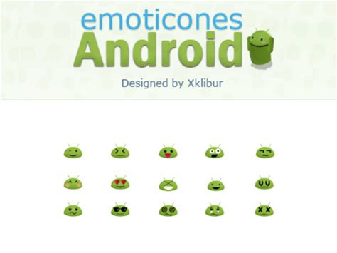android smileys android emoticons by xklibur dribbble