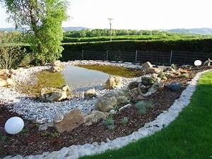 Gartengestaltung Mit Naturstein Mauern Wasserläufe Und Terrassen : teichbau bruckmeier garten und landschaftsbau ~ Orissabook.com Haus und Dekorationen