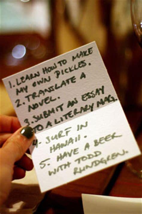 setting goals creating  life list   bucket list mom