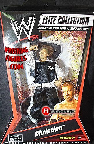christian wwe elite  ringside collectibles