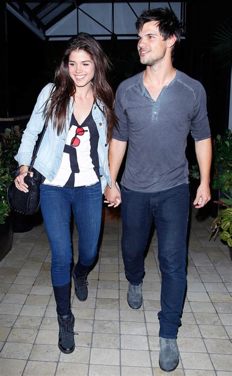 Taylor Lautner Holds Hands on Date Night With Marie ...