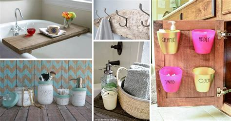 17 Excellent Diy Bathroom Storage Ideas And Makeover Tips