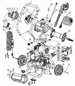 Greenworks 1600 Psi Pressure Washer Replacement Parts
