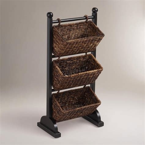 shelf  storage baskets  decor