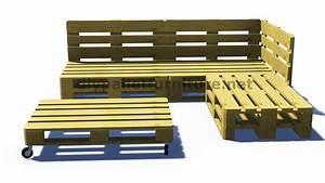 Fauteuil En Palette Facile : faire un canap en palette bricolage maison et d coration ~ Melissatoandfro.com Idées de Décoration