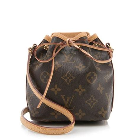 louis vuitton monogram canvas nano noe shoulder bag