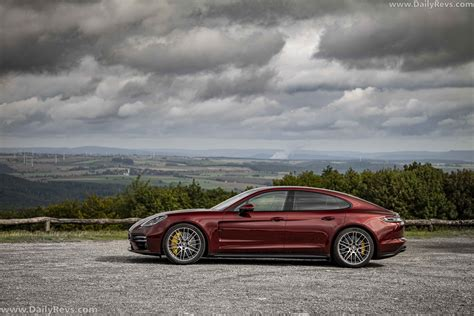 The 2021 porsche panamera arrived last week, and it has stirred the lineup heavily. 2021 Porsche Panamera Turbo S - Cherry Metallic - Dailyrevs