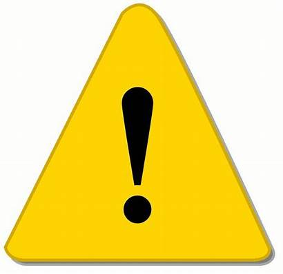 Hazard Clip Sign Clipart Warning