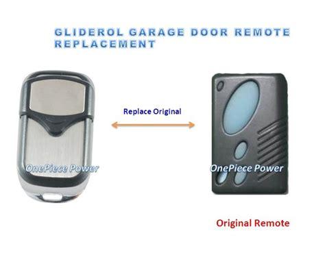 high quality gliderol garage door remote control
