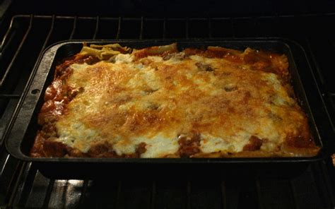 The  Cent Chef Baked Lasagna With Grounden