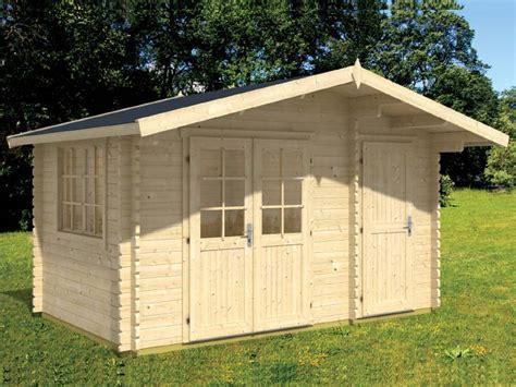 cabin shed kits small log cabin shed kit walnut 5 bzbcabinsandoutdoors