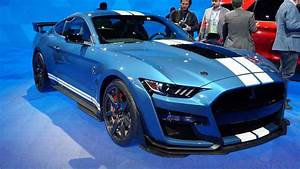 2020 Ford Shelby GT500: Live From The Detroit Auto Show | CarsRadars