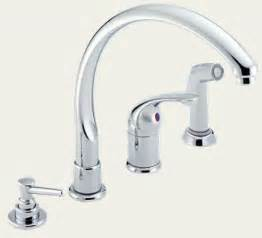 Delta Faucet Leaking Single Handle by Delta Single Handle Kitchen Faucet With Spray Captainwalt