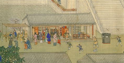 qianlong emperors southern inspection  scroll