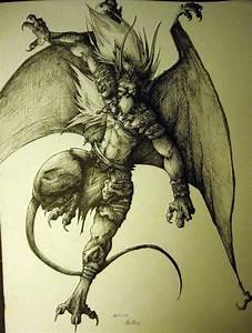 Brooklyn - Gargoyles by charcoal-almighty on DeviantArt