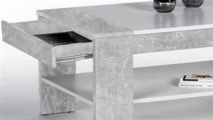 Möbel In Betonoptik : couchtisch finley plus in betonoptik wei mit 1 schubkasten 100x58 cm ~ Frokenaadalensverden.com Haus und Dekorationen
