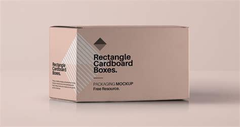 rectangular psd box mockup psd mock  templates pixeden
