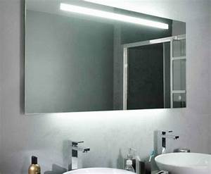 ou trouver le meilleur miroir de salle de bain avec eclairage With miroir de salle de bain avec eclairage leroy merlin