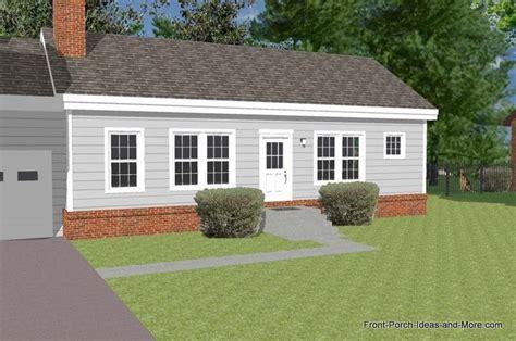 great front porch designs illustrator   basic ranch home design