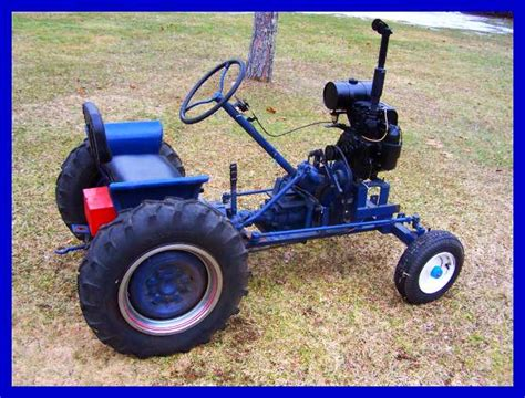 homemade tractor check out gary barkyoumb 39 s really cool home made tractor
