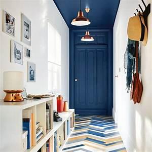 Couleur Peinture Couloir : peinture couloir id es de couleurs c t maison ~ Mglfilm.com Idées de Décoration