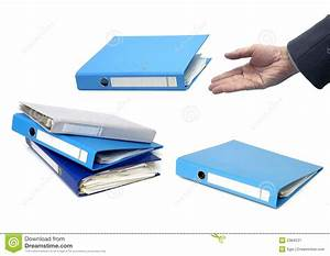 documents binder royalty free stock photography image With corporate documents binder